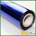 Solid Blue Hot Stamping Foil Roll for Plastic/PVC/Chair/Decoration/Cup/Accessories Good Quality and Factory Price