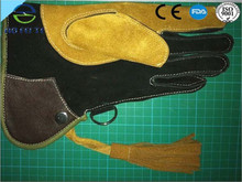 new products safety product falconry leather glove
