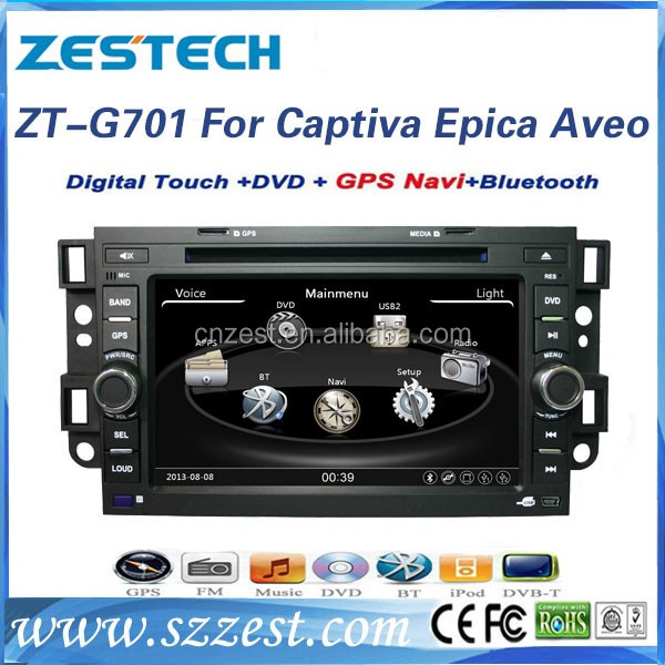 2 Din Car DVD for chevrolet Captiva Aveo Epica car gps DVD navigation with Radio,Bluetooth,TV,CD,USB,entertainment system