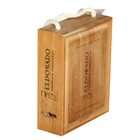 High Quality Custom Vintage Rustic Store Display Fixtures Wooden Wine Crate For Sale