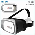 Portable Virtual Reality 3D Video Movie Game 3D Glasses VR Box for Samsung S7 edge / S7 / Note5 / S6 edge+