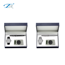 Shenzhen luxury men gift set with pocket watch with different gifts for promotion popular in Europe market