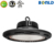Factory price led high bay ufo ip65 waterproof 150w 200w 240w led high bay light 33600 lumen with 5 years warranty