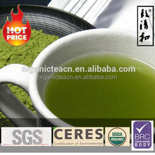 Get Matcha Green Tea Powder With BRC, EEC, FDA, IMO, NOP, QS, CERES Certificats