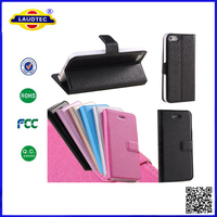 2014 New Magnetic Flip PU Leather Hard Cover Wallet Pouch Case For Apple iphone 5s 5c