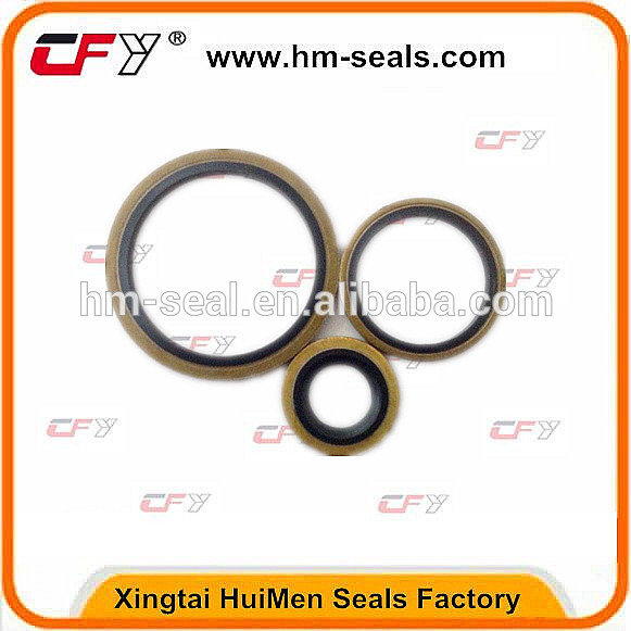 Hydraulic Pump Seal Rubber Bonded Washer Sealing