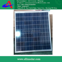 High Efficiency 50W Poly solar cell solar modul CE Approval Solar Panels