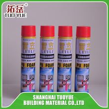 Liquid door fixing polyurethane pu foam