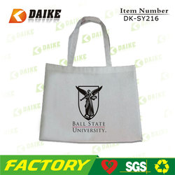 Eco-friendly Factory Canvas Stylish Tote Bags DK-SY216