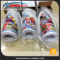 High Definition Printing Bubble Wrap Car Vinyl Sticker Bomb Car Wrap Vinyl