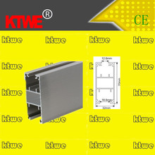 Toilet cubicle partition door aluminum extrusion profile for 10mm panel