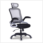 New arrival brown mesh most ergonomic office chair