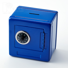 Kwang Hsieh High Quality Blue Custom Metal Money Box