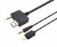 3.5mm AUX Audio USB Adapter Car Stereo Cable for Hyundai KIA to iPhone 5 5S 6 6S plus