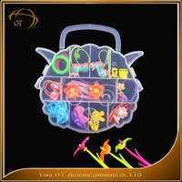 Fashion design baby hair jewelry factory price kid accessory gift set made in China