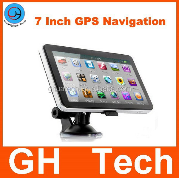 Russia 7 inch GPS Navigation AVIN and Bluetooth+4GB WinCE 6.0 Car GPS Navigation FM 800 MHz
