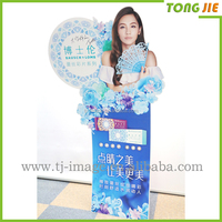 Custom Shapes Walking Stand Up Advertising Board For Shops