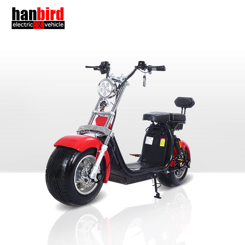 EEC Approved Low Speed Wheel Electric Scooter with 3 Wheel