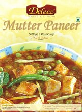 Mutter Paneer (Cottage Cheese & Peas Curry)