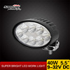 "Machine Work Light 40w Tractor Lights 5.5"" LED Work Light for Agricultural"