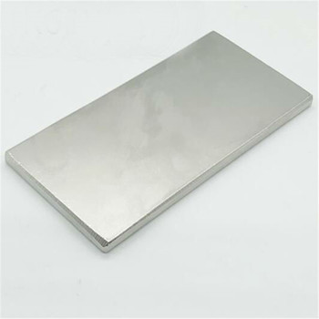 Sintered strong rare earth block thin plates neodymium magnet