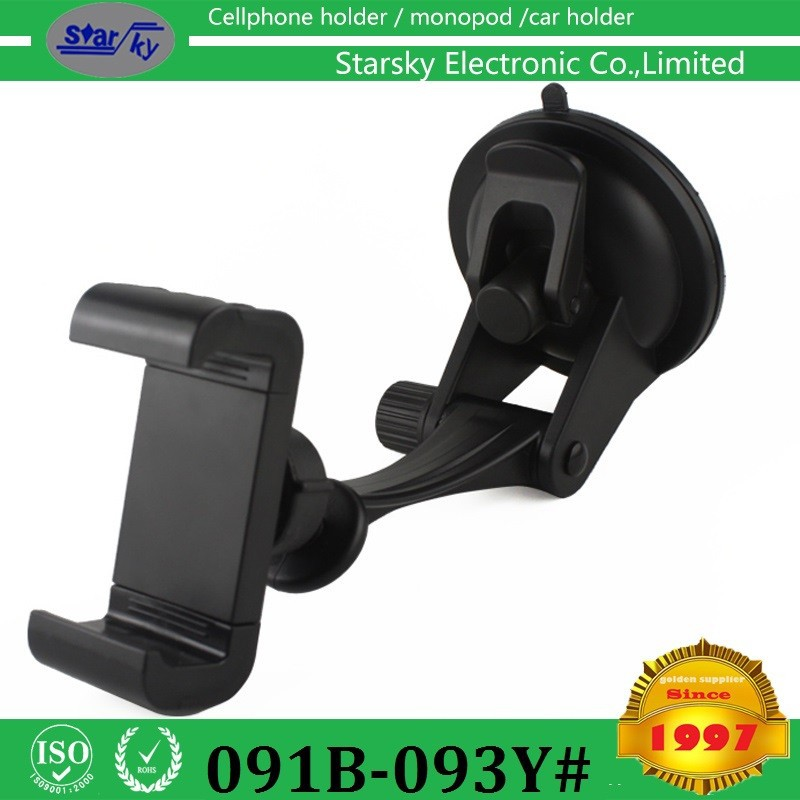 New Arrival One Hand Operation Car mount holder 360 Degree car holder dashboard Mount Holder For mobile phone