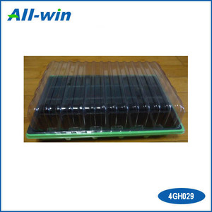 plastic planting box portable green mini 24 holes green box outdoor and indoor use