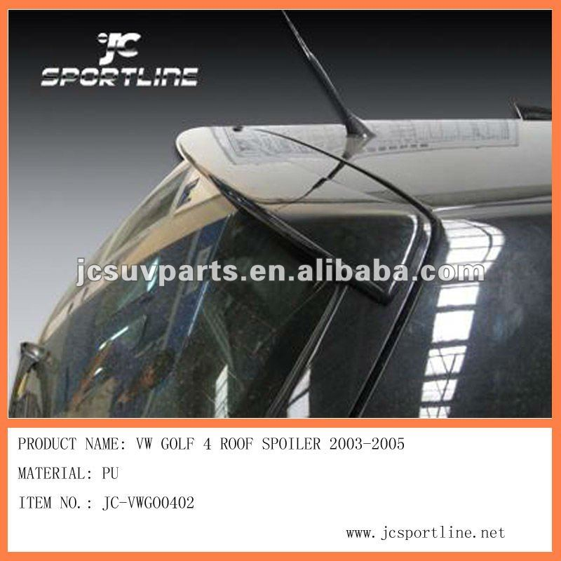 for VW golf 4 IV roof spoiler PU