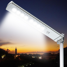 Integrated Stand Alone Solar Street Lighting With Battery System