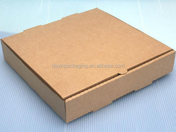 Take Away Brown Kraft Paper Custom Pizza Box,Corrugated Box For Pizza,Pizza Hut Pizza Box