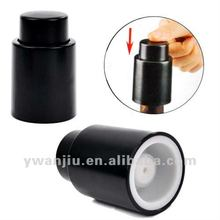 Small order supply fashion plastic bottle stopper plastic wine bottle stoppers