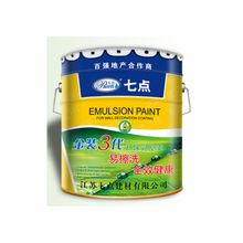 Water based Environmental Eco friendly indoor odorless emulsion paint