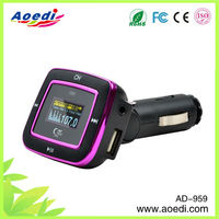 Fashional appearence!!auto mp3 fm transmitter,usb sd card mp3 fm scanner radio,fm modulator car mp3 player of AD-959