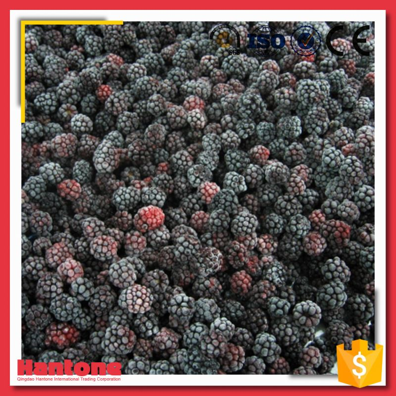 China Supplier Quick Frozen Blackberry Price