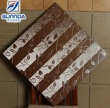 Metallic finish porcelain floor and wall tile for bathroom, bedroom, sitting room