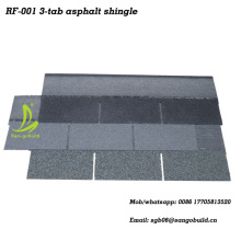 Ghana Best Quality Asphalt Shingle, Stone Coated Roof Tile With ASTM Standard