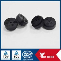 square rubber cap, EPDM square rubber plug,square chair feet