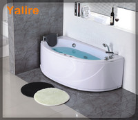 Factory made directly corner whirlpool bath tub