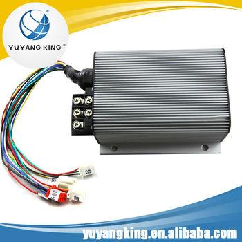 Brushless dc motor controller 48v 72v 50a for 4 wheels for 48v brushless dc motor