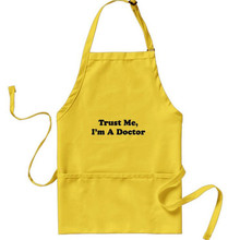 Medical doctor cheap custom apron for wholesale