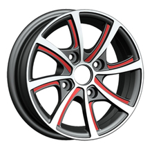 18 inch 4x100 good quality aluminium rc car Wheels for sale(ZW-VE02)