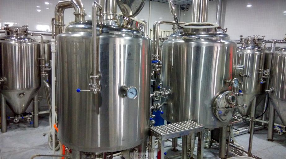 Homebrew fermentador cônico e cervejaria aço inoxidável do SUS 304/316 DIY com sistema de controle automático