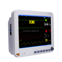 15 inch Yonker Chinese supplier Multi-parameter NIBP ECG SPO2 TEMP RESP Patient Monitor 6 parameter patient monitor