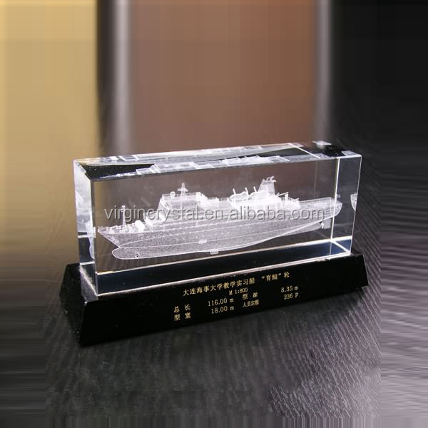 Подарок корабль с гравировкой 96