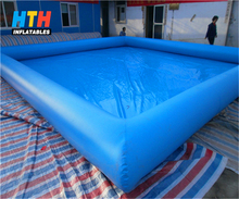 PVC giant commercial inflatable pools