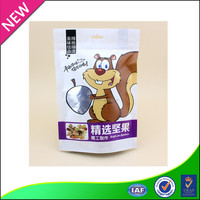 All natural mediterranean nuts and snacks composite packaging plastic bag
