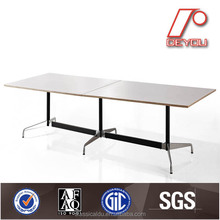 segmented conference table, Aluminium table leg/base, contract chair replica CT-609