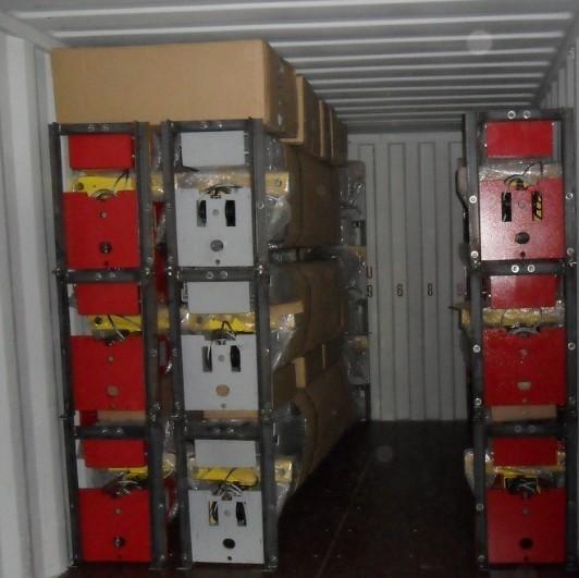 2 post car lift 4 ton packing(SS-CLA-40)