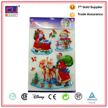Newest 3D pop up wall stickers christmas printing 3d floor decoration sticker