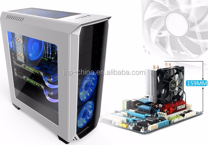 Brand new Full transparent Acrylic side board gaming ATX pc case